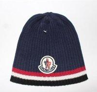 Wholesale Rock Hats - Hip hop cap Winter beanies men hats Rock logo Casual Cap Turban hat bonnet plus velvet caps for men beanie