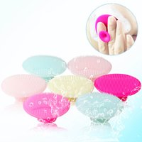 Wholesale Scrubbing Pads - 1PCS Cleaning Pad Wash Face Facial Exfoliating Brush Skin Scrub Cleanser Tool