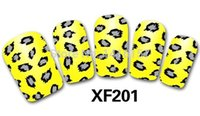 Wholesale Variety Nail Stickers - Wholesale-Min.order is $10 (mix order) Fashion 3D Nail Art Stickers Decals A Variety Of Styles To Choose Manicure Accessories XF201