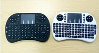Wholesale hot rii - Hot selling Mini Rii i8 Wireless Keyboard 2.4G English Remote Control Touchpad for Smart Android TV Box Notebook Tablet Pc