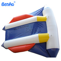 Wholesale Boat Fish Games - B017 2 person PVC Towable Flying Fish Tube Banana Boat Water Sport Games Toy Inflatable Fly Fish Banana Boat
