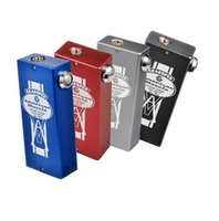Wholesale Mechanical Muscles - American Muscle V2 Box Mod 0.08ohm Dual Unregulated Mechanical 18650 Mod fit 510 thread RDA RBA atomizers