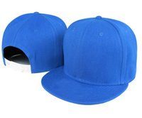 Wholesale Cheap Blank Ball Caps - Blank Snapback Hats solid caps cheap pace full color hot men womens Adjustable baseball without min order