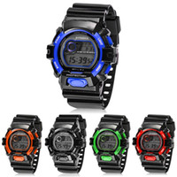 2015 Hot New Multifunction Digital LED Quartz Alarm Date Sports Montre bracelet imperméable à l'eau