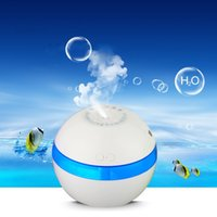 Ultrasonic Humidifier USB Humidistat LED Light Aroma Diffuser Round Ultrasound USB Mini Humidifier Household Air Purified Humidifiers Popular Top Quality 23 9nz B R