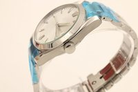 Wholesale Wholes Sales Dresses - Whole Sale Full Stainless Steel White Face Chronometer Automatic Mechanical Sea Co-Axia Male Wristwatch Relojoes l