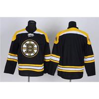 Wholesale Cheap Christmas Apparel - Black Bruins Hockey Jerseys 2015 Hot Sport Apparel Cheap Mens Hockey Uniform Outdoor Sportswear Profession Ice Hockey Jerseys Christmas Gift
