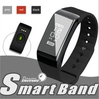 Wholesale Universal Fitness - Newest Smartband F1 Smartband Smart Wristbands Sport Band Bracelet fitness tracker Heart Rate Monitor IP67 Waterproof Universal Style