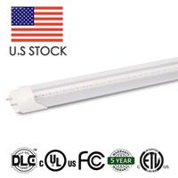 Wholesale Led Lists - U.S Stock UL ETL Listed 4FT 18W 22W Bypass LED Tube Light - 120lm w 80Ra with 5 Years Warranty 25pcs carton