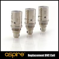 Wholesale Mini Vivi Nova Dual Coil - Aspire BVC Coils BDC coil for Aspire BDC Atomizer CE5 CE5-s vivi nova mini Atomizers ET ET-S mini E-pen maxi atomizers dual Coils