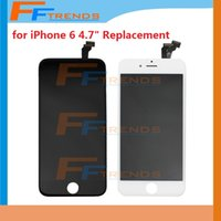 """Wholesale Hot Touch Digitizer - Hot Selling for iPhone 6 4.7"""" inch LCD Display & Touch Screen Digitizer Full Assembly Black White Replacement Repair Parts Facotry Price"""