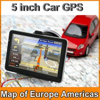 Gps Navigator spanish music games - Newest inch Car GPS Navigation with FM Video Music Game E BOOK RAM GB Memory Vehicle GPS Navigator DHL FREE JBD GPS