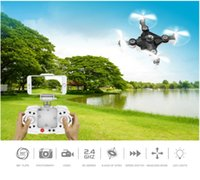 Wholesale Uav Vehicle - Aerial Camera FQ11W WIFI Folding UAV Mini Portable Aerial Vehicle Remote Control Aircraft Toy Free Shipping