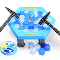 Wholesale fantasy puzzle - Save Penguin Toy Knock Ice Block Interactive Family Game For Child Puzzle Plastic Toys Easy To Carry 6 5yz B