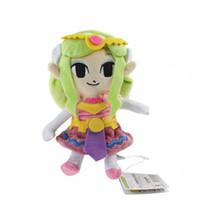 Wholesale Princess Plush - Princess Zelda Plush Doll The Legend of Zelda The Wind Waker Games