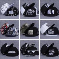 Wholesale Trukfit Red Camo Hats - Camo Trukfit Snapback hat custom Hip-Hop hats snapbacks snap back cap mixed men women caps color 40