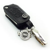 Wholesale Hyundai Tucson Key - ADDAN Genuine Leather Car key case for Hyundai i30 ix35 Elantra Verna 2011Sonata 8 black color key wallet