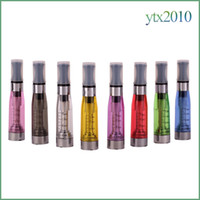 Wholesale Ego Ce5 Wick Atomizers - Ce5 Vaporizer E Cigs No Wick 510 Thread 1.6ml Atomizer 2.4 ohm 8 colors Clearomizer For Electronic Cigarette ego T EVOD
