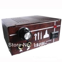 Wholesale Dual Output Tattoo Power Supply - Wholesale-Dual Output Power Supply Power Supply Tattoo Power Supply PS-38 for tattoo machine gun kit high quality free shipping