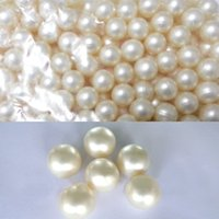 Wholesale Round Pearls Beads - Hot Wholesale!!! OEM Free Shipping 3.9g White Round-shaped Bath Oil Beads Jasmine Fragrance Bath Oil Pearls SPA 100pcs lot