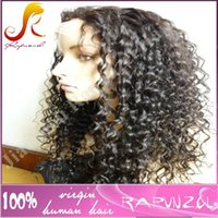 Wholesale Curly Remy Hair For Sale - Fast delivery and wholesale factory price brazilian human hair soft kinky curly lace front wig for sale