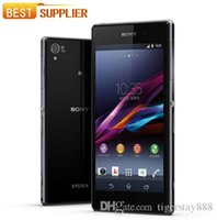 "Wholesale Xperia Z1 Accessories - Refurbished Sony Xperia Z1 L39H Original Cell phone GSM 3G&4G Android Quad-Core 2GB RAM C6903 5.0"" 20.7MP WIFI GPS 16GB"