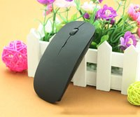 Wholesale Usb Novelty Computer Mouse - Novelty Computer Mouse Candy color ultra thin wireless mouse and receiver 2.4G USB optical Colorful Special offer computer mouse