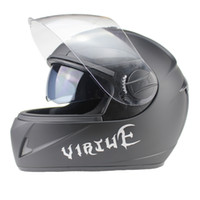Wholesale Helmet Double D - Wholesale-New Arrival Free Shipping Best-Selling Full Face Safe Motorcycle Helmet double lens latest version have bag 100%