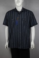 Wholesale Silk Shirts For Men Xxl - Wholesale-bahama hawaii casual silk half sleeve shirts for men size XXL ONLY ONE