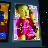 Wholesale Light Box Photo Frame - Wall Mounted Advertising Photo Frame Picture Frame Snap Frame LED Light Box