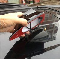 Wholesale Shark Antennas - NEW Auto Car Shark Fin Antenna Aerials With AM FM Radio Signal For Toyota Rav4 Modifiction Conversion Free shipping