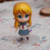 "Wholesale Kirino Kousaka - 4"" My Little Sister Can't Be This Cute Kirino Kousaka Nendoroid PVC Action Figure Model Collection Toy"