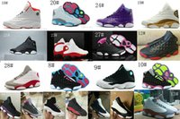 """Wholesale High Sport Shoes Ladies - 2017 new Retro 13 XIII """"History of Flight"""" women basketball shoes high quality air retro 13 XIII ladies sports shoes big boy sneakers shoes"""
