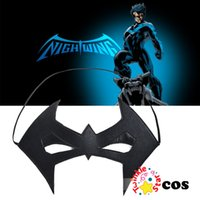 Wholesale Nightwing Costumes - Wholesale-2015 Halloween Eye mask cosplay accessories Nightwing Cosplay sexy eye mask eyewear Nightwing accessories