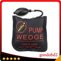 Wholesale Locksmith Tools Air Wedge - 2016 Newest Black KLOM PUMP WEDGE LOCKSMITH TOOLS Auto Air Wedge Lock Pick Open Car Door Lock Medium Size