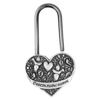 Exclusivo casamento design.wedding lock.heart lock.wedding prata bloqueio supplies.antique sem chave.