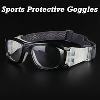 Wholesale Safety Goggles Free Shipping - Wholesale-FREE SHIPPING Basketball Soccer Football Sports Protective Eyewear Goggles Eye Safety Glasses Sport Dribbling Glasses