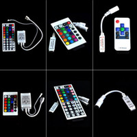 DC 12V  New Mini IR   RF Remote Controller For 3528 5050 RGB LED Strip Light | 6 Selects