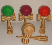 Wholesale Toy Wholesale Kendama - 2016 Kendama Bamboo wood kendama Professional Free Shipping Size:18.5cm Funny Japanese Traditional Wood Game Toy