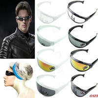 Wholesale stylish cool sunglasses for sale - Group buy Stylish X Men Robot Personality Sunglasses UV400 Lenses Protection Cool Creative Sungiasses