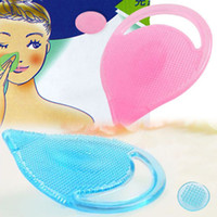 Wholesale Face Washing Pad Blackhead - New Arrival Blackhead Washing Remover Facial Cleansing Pad Face Clean Soft Nose Brush Pore Cleaner Skin Care Makeup Tools free DHL 6852