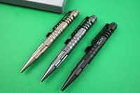 Wholesale Defense Pens - New LAIX B5 Black Gray Gold Tactical pen Defense Survival Portable Survival Pens Aviation Aluminum Camping security Tool pocket knife OFF296
