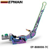 Wholesale E Emergency - EPMAN Neo Chrome Adjustable Car Racing Drift Hydraulic Hand Brake Emergency E-brake Unit Kit Handbrake Drifting S13 EK EG EP-B88008-7C