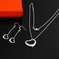 Wholesale Cheaper Wedding Jewelry - Wholesale-925 Set - S51  Cheaper jewelry Silver jewelry set Necklaces+earrings set jewellery sets .High quality ,free shipping