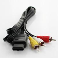 Wholesale Nintendo N64 - Audio Video AV Composite Cable for Nintendo 64 N64