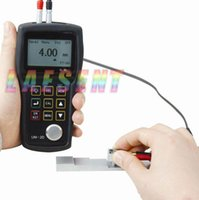 Wholesale Ultrasonic Coating - Wholesale-UM-2D,Thru-Paint or Coating Ultrasonic Thickness Gauge with RS232 Port& software cable,free shipping by DHL FEDEX UPS TNT EMS