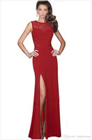 Wholesale pageant dresses adults - Evening dress 2016 occasion dresses Sexy Sleeveless Evening Celebrity Red Carpet Pageant Prom black evening Dress 8186#