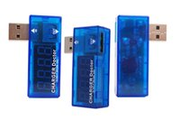 mobil batarya test cihazı toptan satış-USB voltaj metre güç kapasitesi mobil güç pil kapasitesi test dedektörü test cihazı