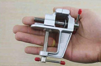 tezgah mektubu toptan satış-DIY Mücevher Craft Kalıp Sabit Onarım Aracı için yüksek kaliteli alüminyum alaşım Tablo Yardımcısı Bench Vida Bench Mengene