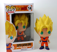 Wholesale Saint Seiya Action Figures Collection - Dragon Ball Z Funko POP Super Saint Seiya Goku Son Gokou Boxed PVC Action Figure Model Collection Toy Gift